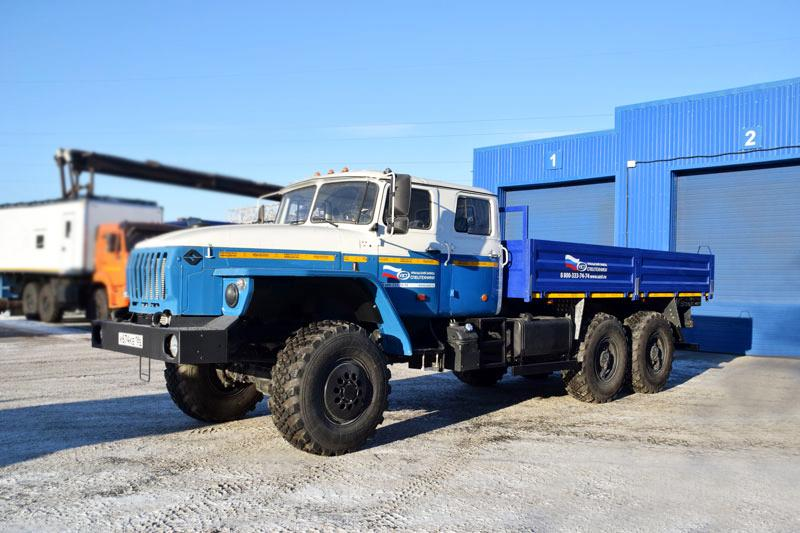 Бортовой Урал 4320-1916-72Е5 (сдвоенная кабина)