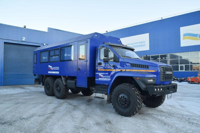 Вахтовый автобус Урал-NEXT 4320-6952-72Е5Г38 – 28+2 места