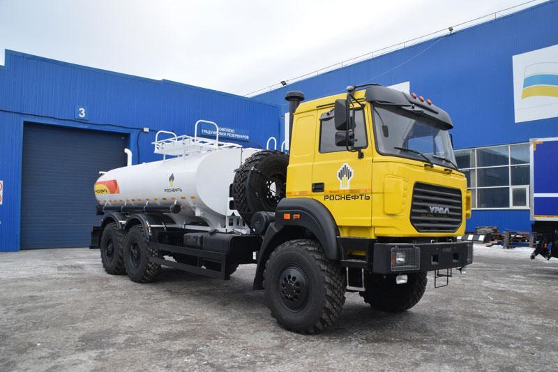 АЦПТ-9,2 Урал 4320-4952-82Е5