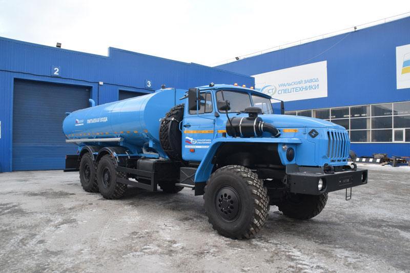 АЦПТ-10 Урал 4320-1912-60Е5 (027)