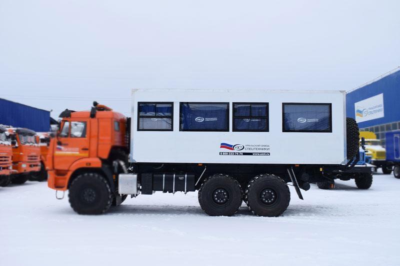 Навеска вахтовый автобус ВА – 22 места