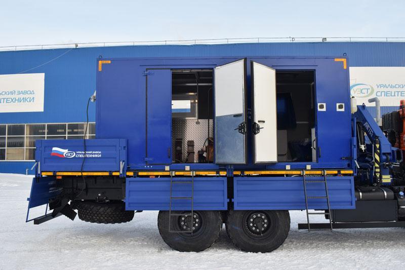 Съемный ремонтно-бытовой модуль КФ-001