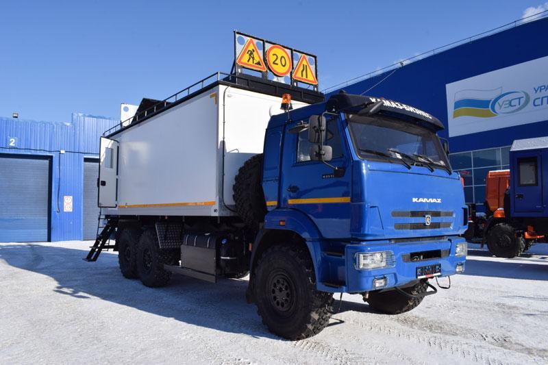Транспортно-бытовая машина Камаз 43118-3090-80(RS) (С018)