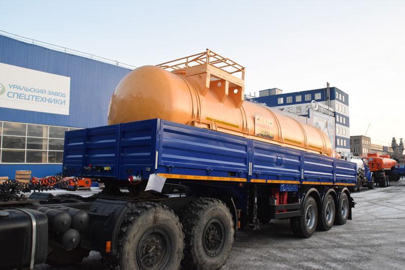 Полуприцеп-контейнеровоз марки УЗСТ ППБ-9178-034Б3 (20,5 т.)