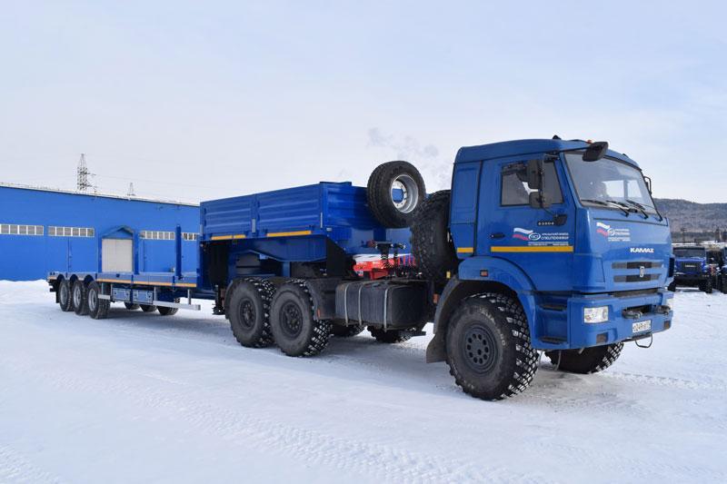 Полуприцеп-контейнеровоз марки УЗСТ 9177-046В3-30 (30 т.)