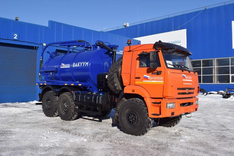 МВ-8 Камаз 43118-3011-50 (ОД, PNR-124D)
