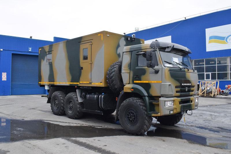 Транспортно-бытовая машина Камаз 43118-3011-50 (С017)