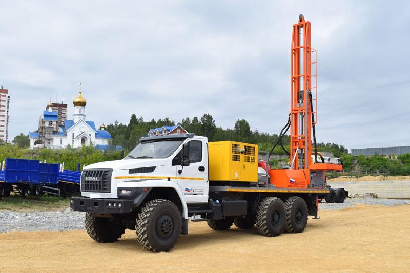 Буровая установка УРБ-2Д3 Урал-NEXT 4320-6952-72Е5Г38