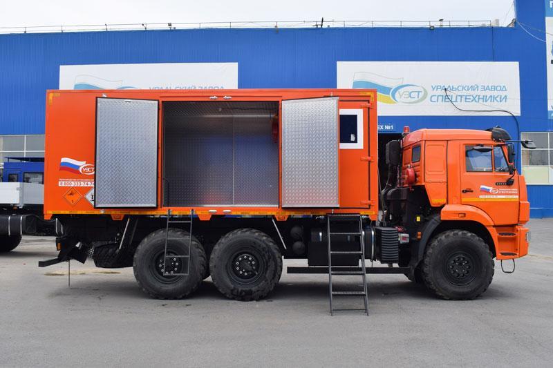 Автомобиль для перевозки взрывчатых веществ Камаз 43118-3973-50