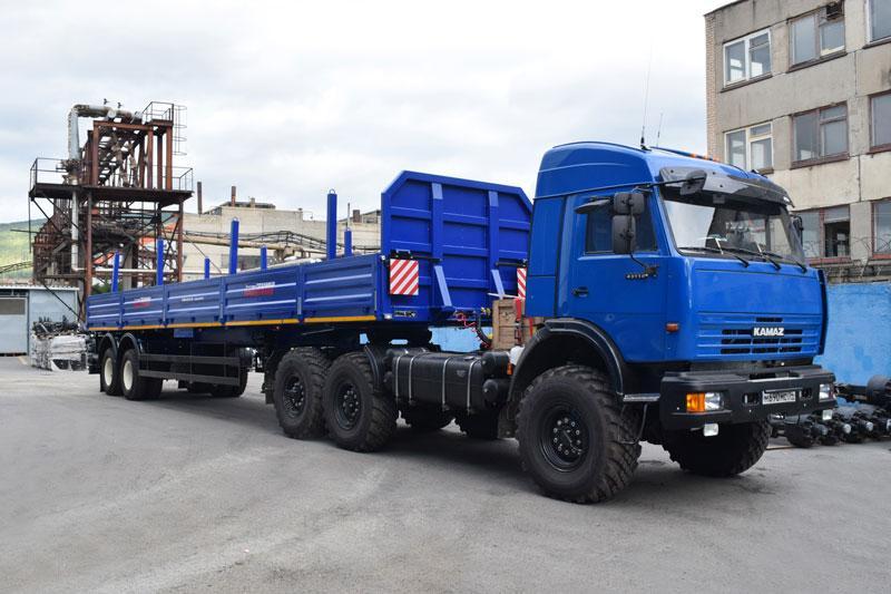 Бортовой полуприцеп марки УЗСТ ППБ-9180А-022Б2-10 (22 т.)