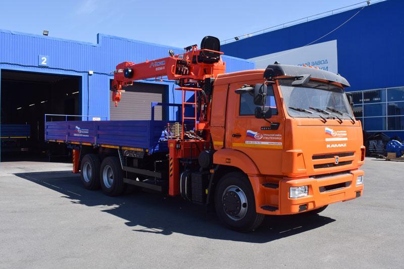 Бортовой Камаз 65115-3094-50 с КМУ Kanglim KS 1256G-II (г/п 7 т.)