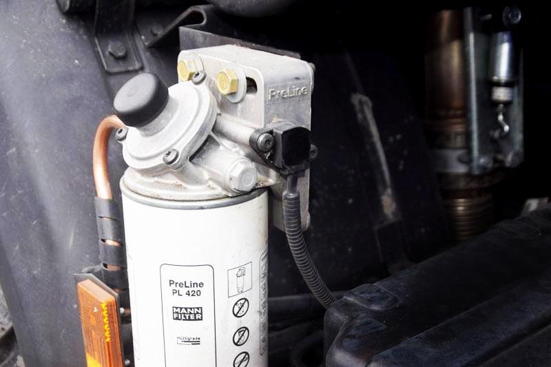 Подогрев топливозаборника