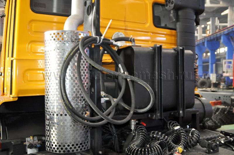 Гидрофикация седельного тягача