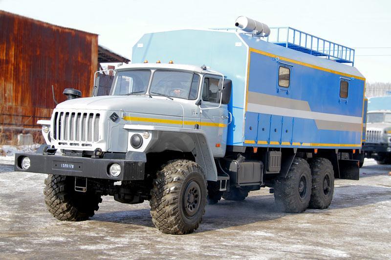 АРС Урал 4320-1912-60Е5 (3-отсечный, с бытовым отсеком)