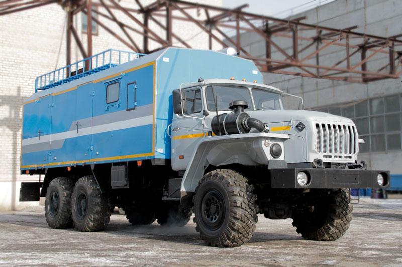 АРС Урал 4320-1912-60Е5 (2 отсека + бытовой)