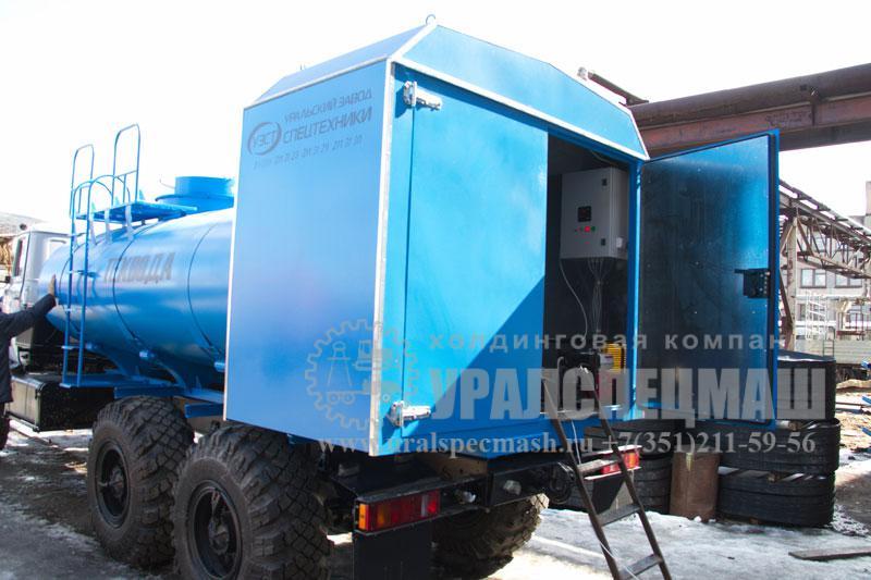 Агрегат нагрева воды АНЖ 8-200 Урал 4320