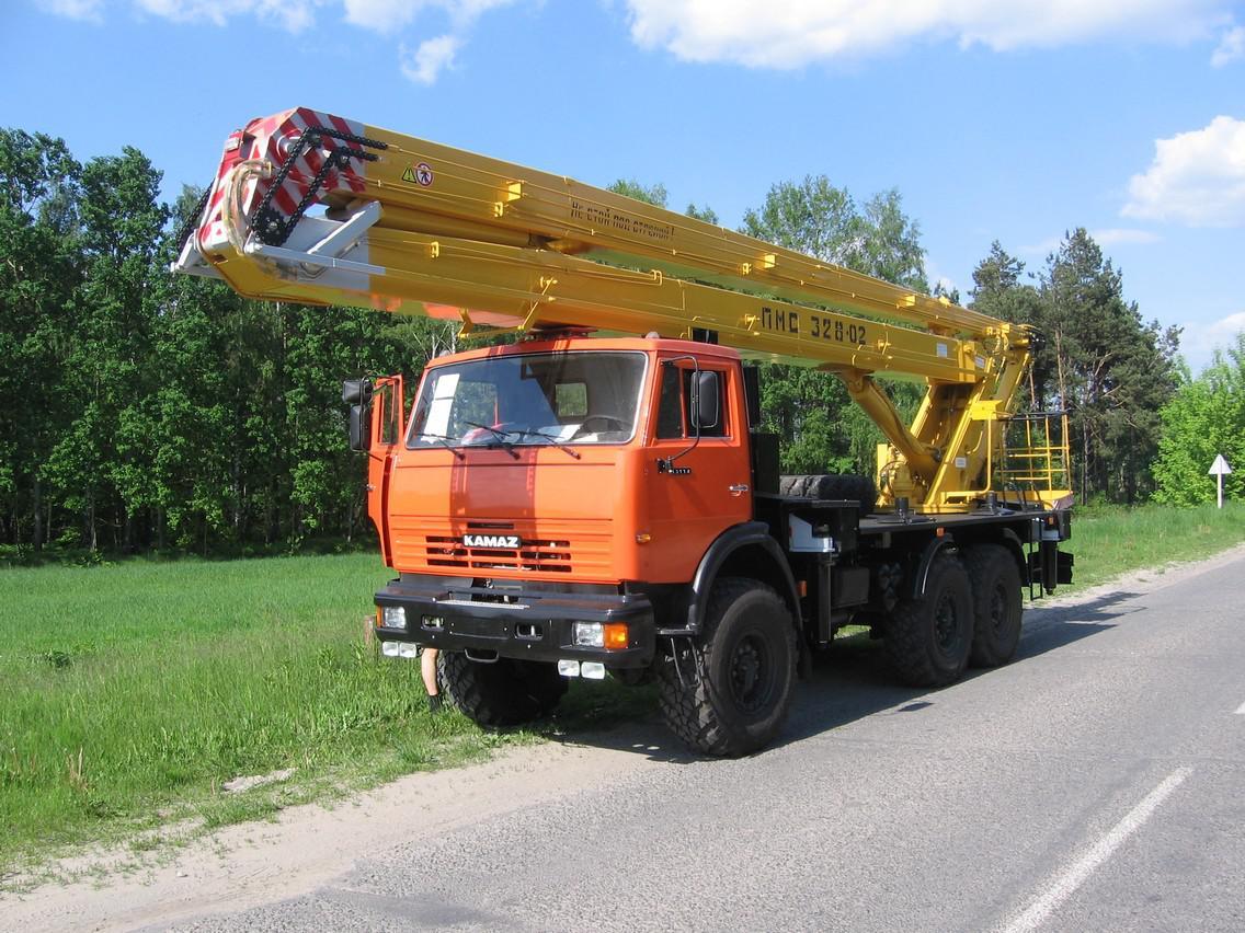 ПМС-328-02 Камаз 43114