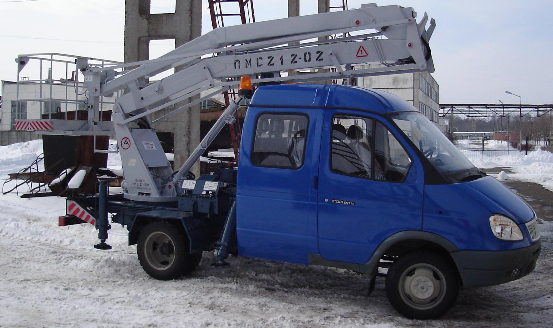 ПМС-212-02 ГАЗ 33023