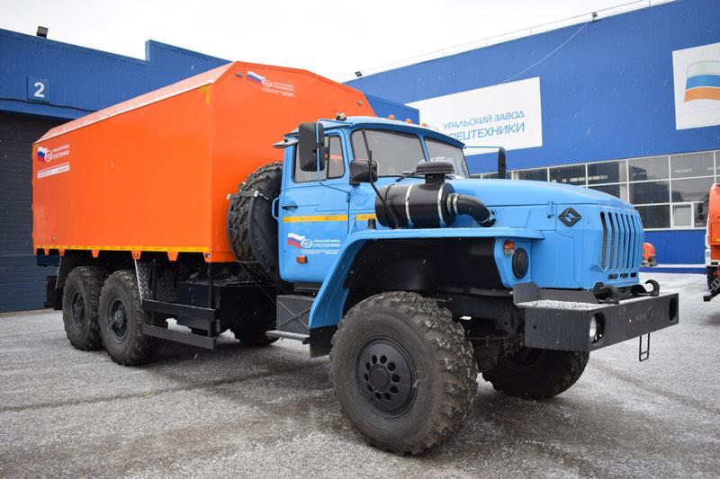 Фургон общего назначения Урал 4320-1912-60Е5 (002)