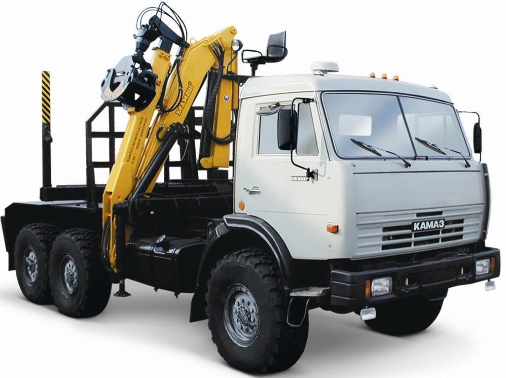 Сортиментовоз Камаз 43118-50 с ГМ ОМТЛ-70-02