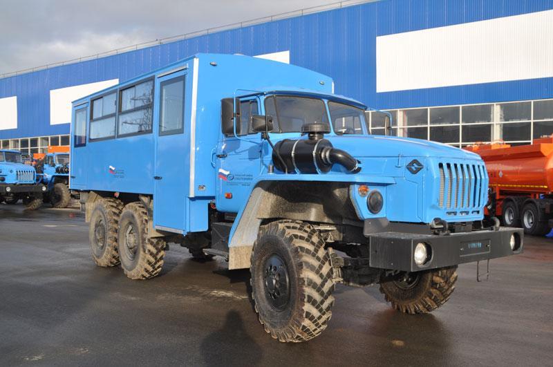 Вахтовый автобус Урал 32551-0013-61Е5 – 22+2 места