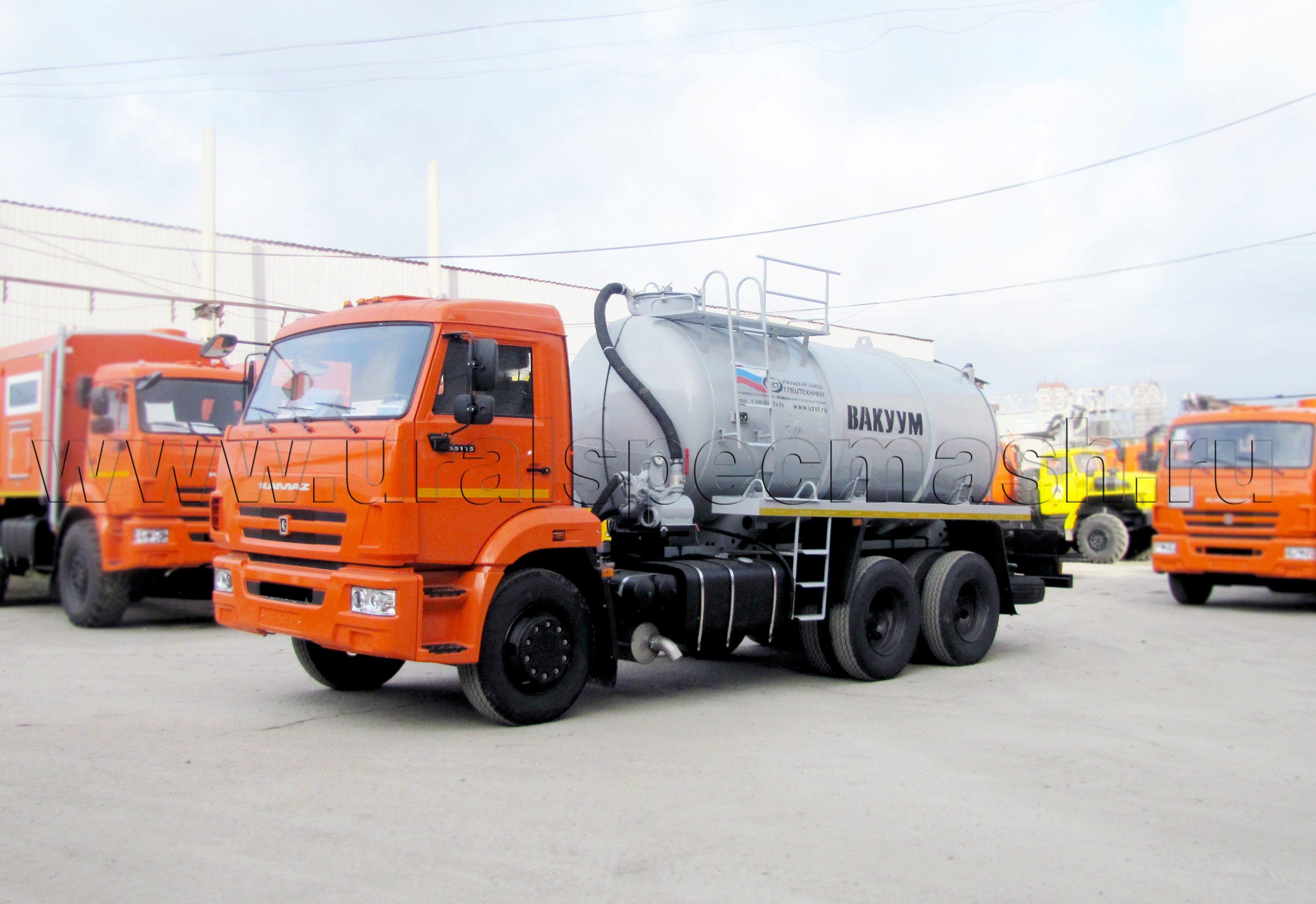 МВ-10 Камаз 65115-1071-62 (КО-505)