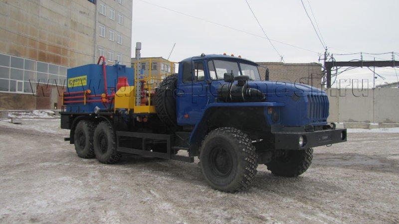 Цементировочный агрегат СИН 35.02 Урал 4320-1916-60