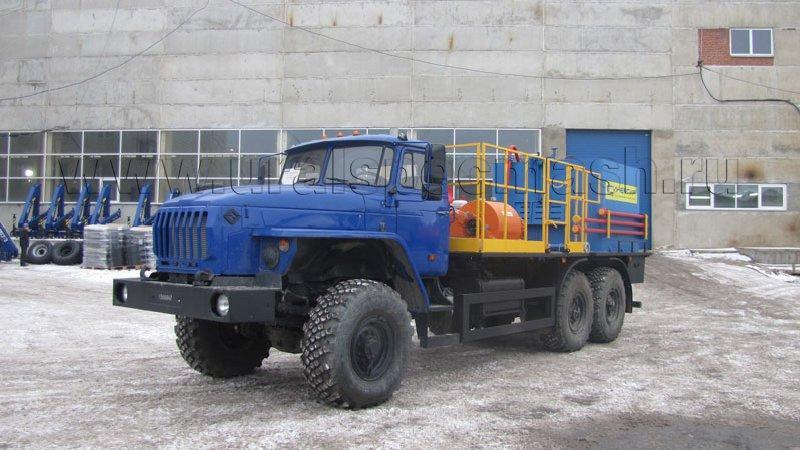 Цементировочный агрегат СИН 35.07 Урал 4320-1916-60 (70)