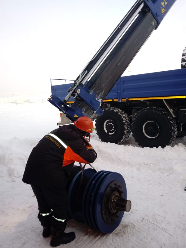 КМУ АНТ прошли испытания в ПАО Сургутнефтегаз